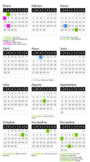 Calendario Laboral De Valencia.Calendario Laboral 2013 De Valencia Love Valencia