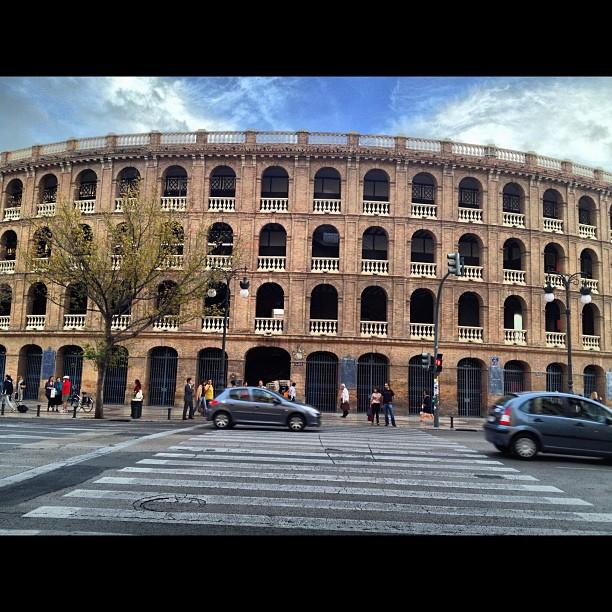 The Bull Ring #valencia #lovespain #lovevalencia #art #building #holiday