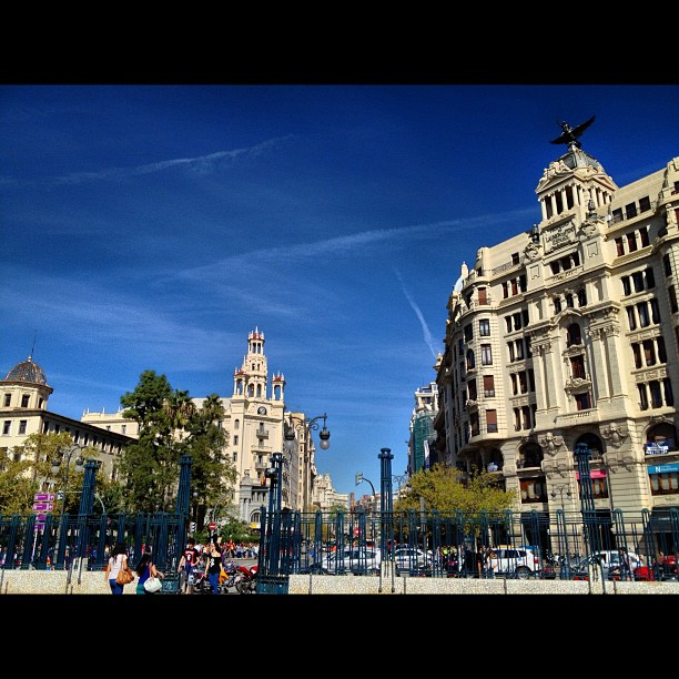 Arrival in Valencia via Murcia #lovespain #lovevalencia #valencia #awayfromlondon #holiday #lovinglife #thetraveller #journeytospain #sobrightandsolight #happydays