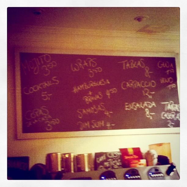 Que barato! Mojito a 3 Euros :D #lovevalencia