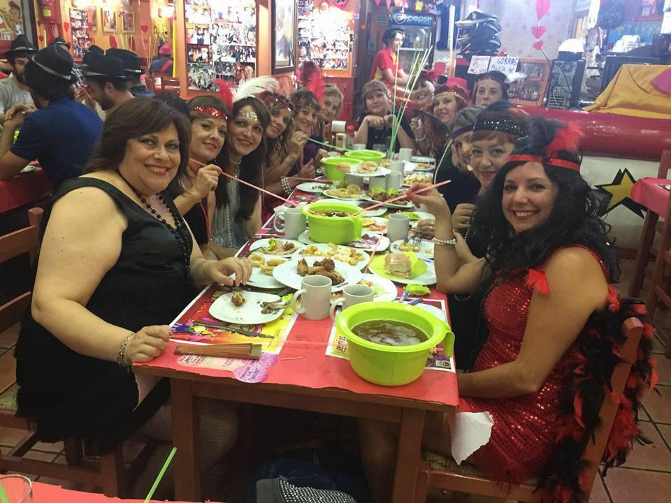 restaurante animado menu grupo