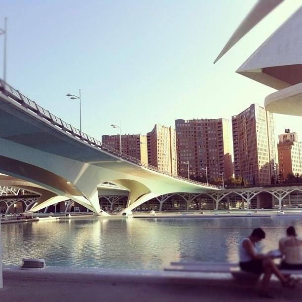 #valencia #calatrava #ciudad #artes #ciencias