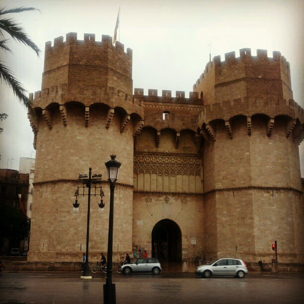 Torres de Serrano. The old gates to Valencia. The views from the top are amazing!