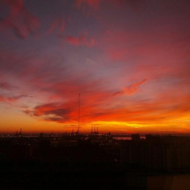 I love my Monday morning views!