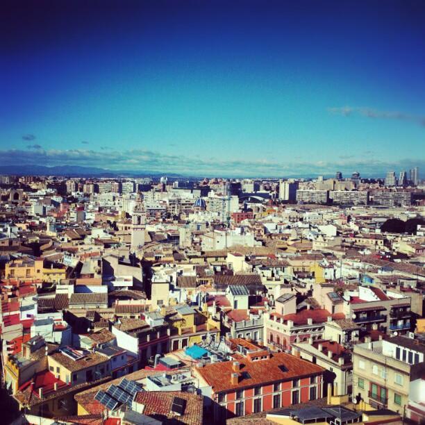 #lovevalencia #valencia #torre # city #vistas