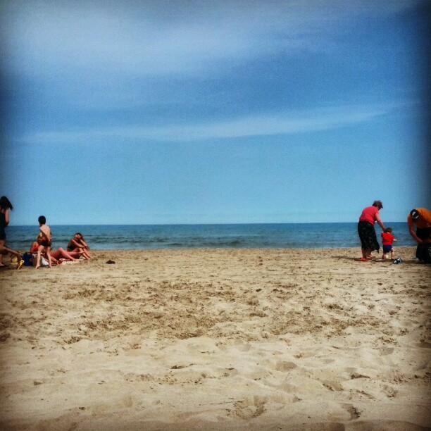 Sabbath afternoon on the beach