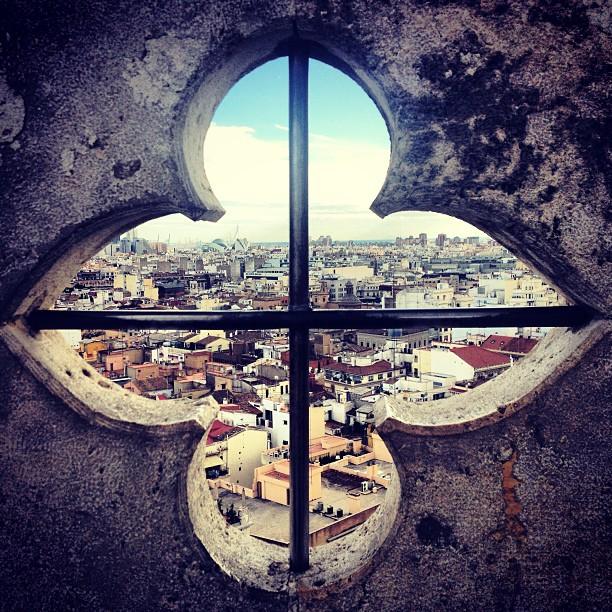 View from El Micalet #catedral #santamaría #lovevalencia
