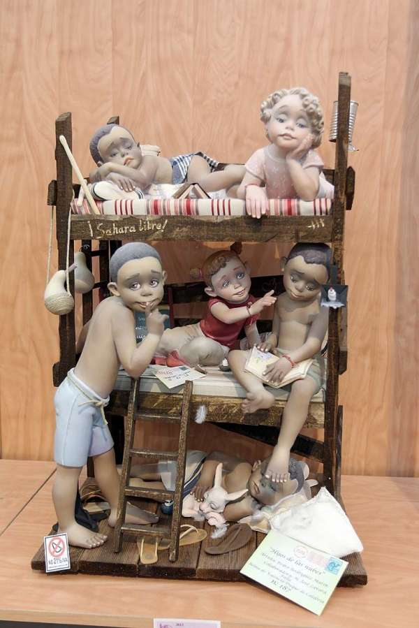 Ninot infantil indultat 2013