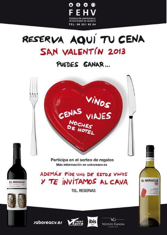 Saborea San Valentin Valencia