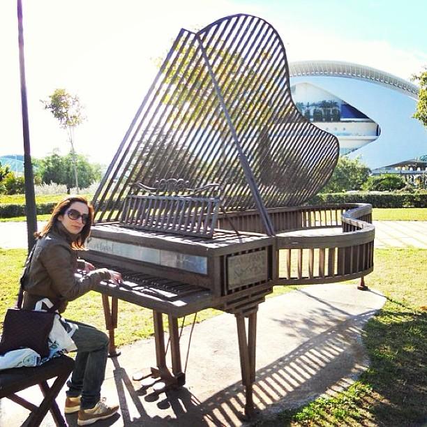 #valencia #ciudaddelasartesydelasciencias #comunidadvalenciana #pianoforte #piano #españa #spagna #spain #lovespain