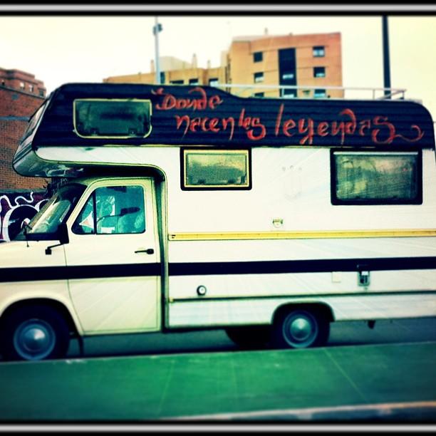 #Caravana #Hippie #Benimaclet #Valencia #lovevalencia