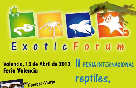 Exotic Forum Valencia 2013