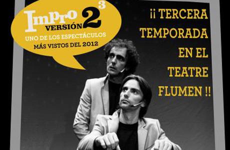 Impro V 2 al cubo en el Teatro Flumen de Valencia