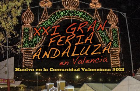 Programación XXI Gran Feria Andaluza de Valencia 2013