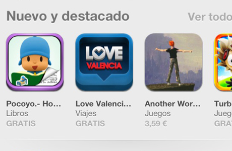 App Love Valencia destacada Apple Store