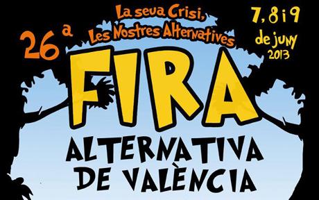 Feria alternativa de Valencia 2013