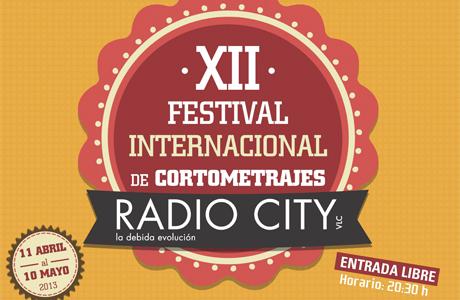 Festival Internacional de Cortometrajes radio city abril 2013