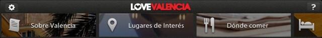 Lugares de interés Valencia app