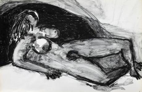 Dibujos eróticos de Jorge Oteiza Valencia 2013