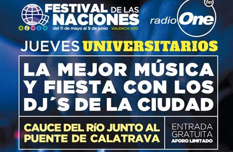 Jueves universitario festival naciones valencia 2013