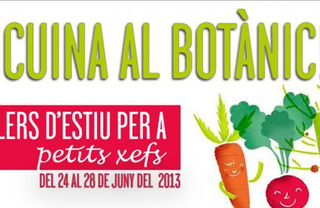 Taller de cocina para pequeños chefs en el Jardín Botánico Valencia 2013