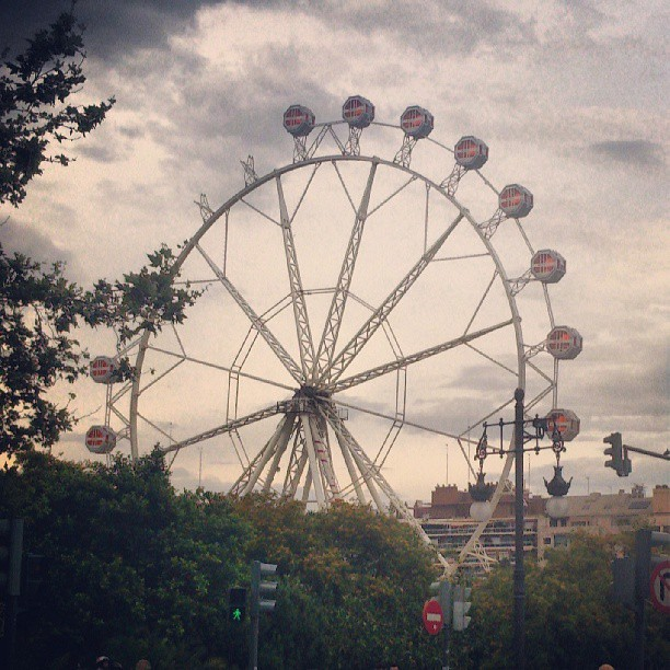 Um sonho incompleto #ferriswheel, #rodagigante, #lovevalencia, #p3top, #portugueses