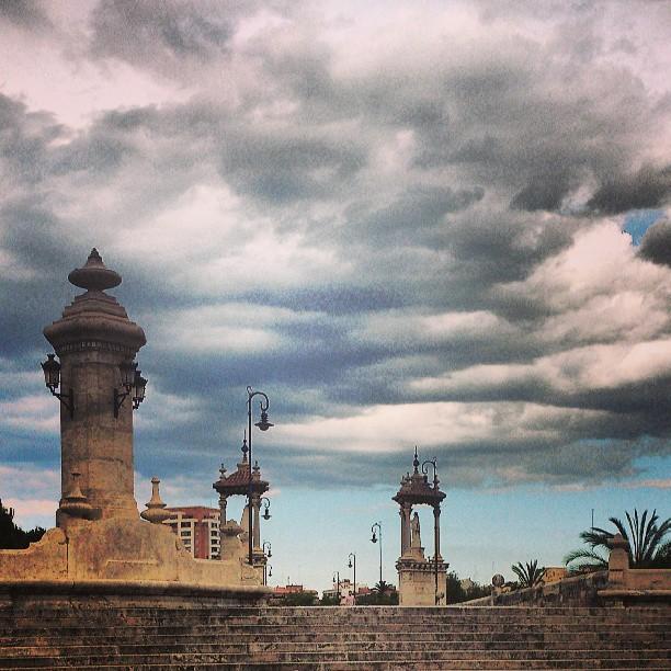 #puntdelmar, #Valencia , #lovevalencia , #skyviewers , #cloudy, #p3top, #instamood, #webstagram