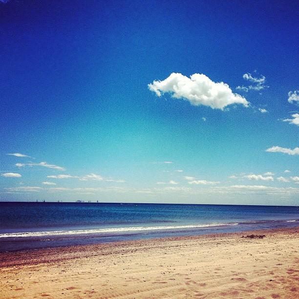 Qué bien se esta en la playa!!!!