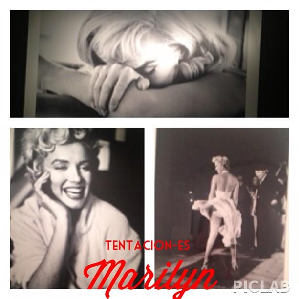 Podéis ver fotos y leer algunas pensamientos de Marilyn Monroe en la exposición bancaja. #lovevalencia