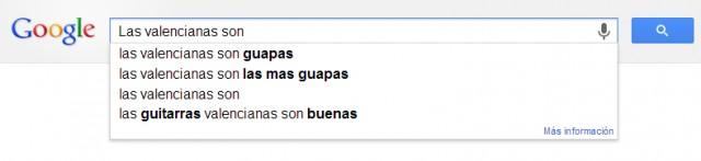 Las valencianas son...