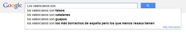 Los valencianos son
