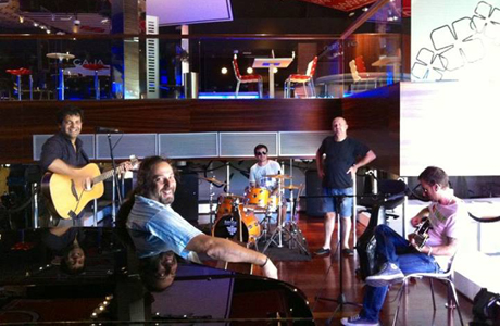 The Great Travelling Band en el Casino Cirsa de Valencia en julio 2013