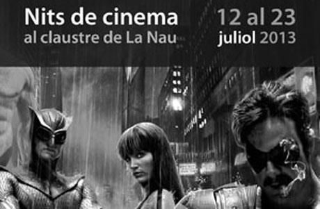 Cinema d'Estiu al Claustre de La Nau