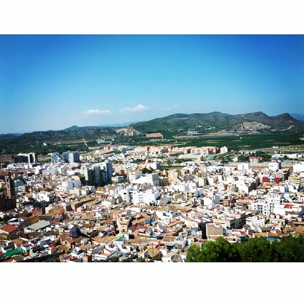 Lovely view from the top of Sagunto castle yesterday. #latergram #sagunto #castle #saguntocastle #lovevalencia