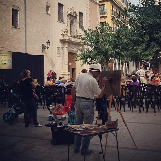 Pinta la Plaça #Falles #Art #MigAny #FalladelPilar #Velluters #València #Cultura #Barri #Fallas #Valencia #Pintura #Pilar #IgersValencia #ValenciaGram #LoveValencia #Tardor #InstaBest #InstaGood