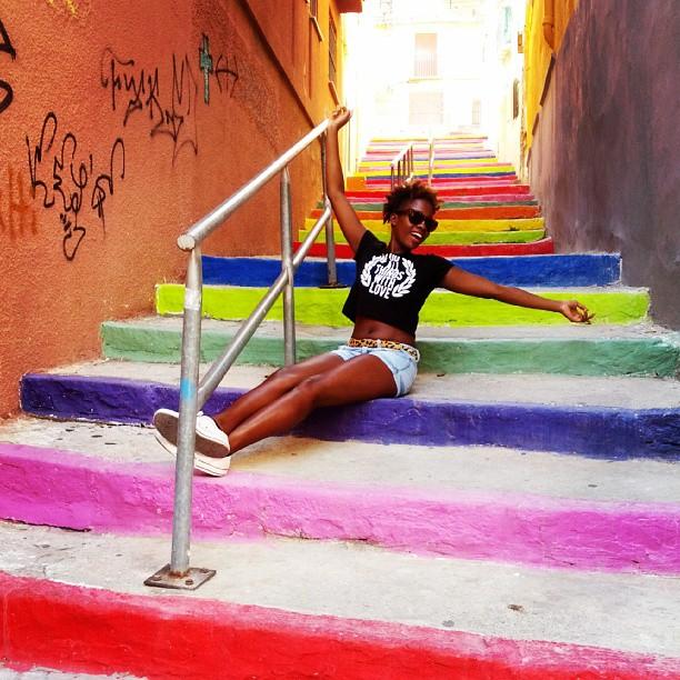 Skittle stairway #lovevalencia