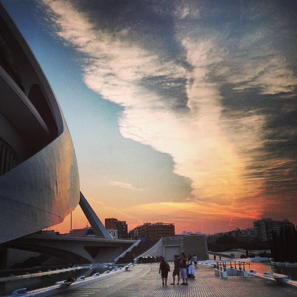 Asi se despide este Domingo... #valencia #domingo #spain #atardecer #sunset