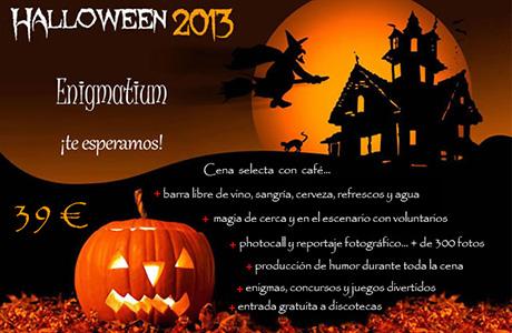 Halloween Enigmatium Valencia