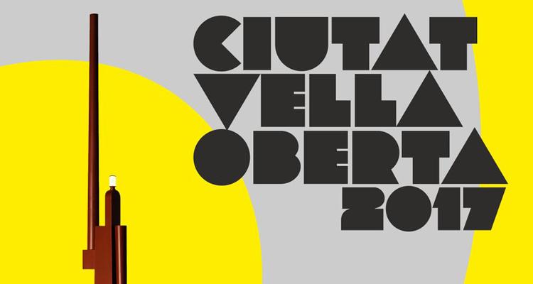 Ciutat Vella Oberta 2017 cartel