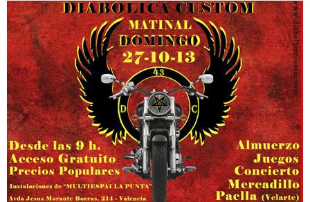 Diabolica Custom Matinal Valencia