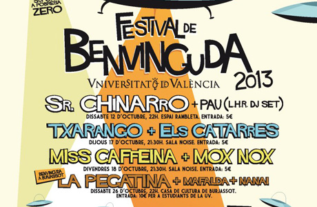 Fiesta Bienvenida UV 2013