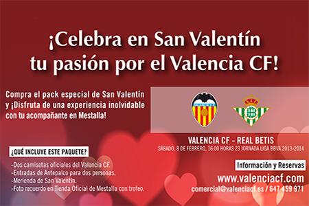 San Valentín Valencia CF