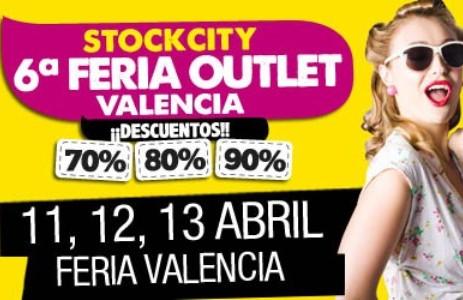 Feria Outlet Valencia del 11 al 13 de abril en Feria Valencia