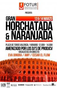 Horchatada y Naranjada