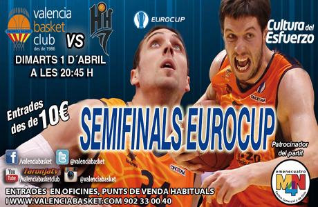 Valencia Basket - Nizhny Novgorod