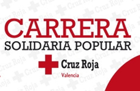 Carrera Solidaria Popular Cruz Roja Valencia 2014