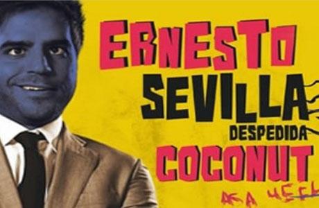Ernesto Sevilla con Despedida Coconut en el Teatro de la Unión Musical de Lliria