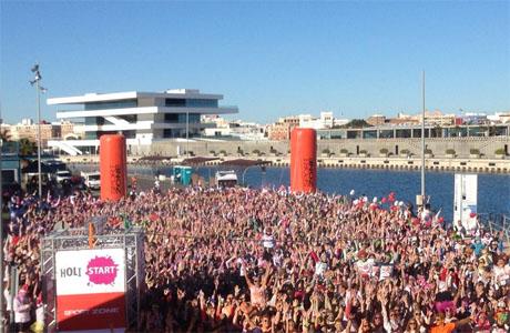 Holi Run Valencia el 10 de mayo