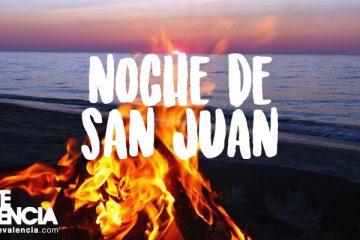 Fiesta noche de san juan en Valencia