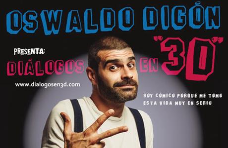 Osvaldo Digón en el Teatro Talia